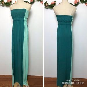 Twelfths Street Strapless Maxi Dress sz Small